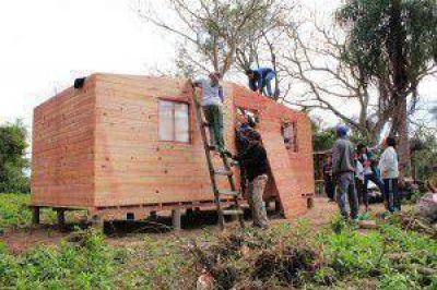 TECHO releva tomas y alista nuevas casas