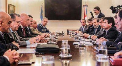 Antonio Bonfatti encabez� una reuni�n del Comit� Operativo Interministerial en Casa de Gobierno