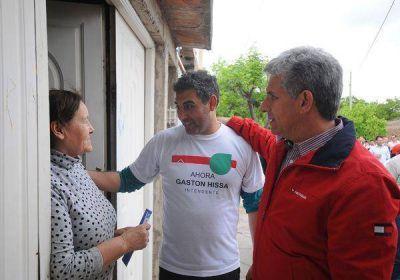 Poggi pidió votar a Gastón Hissa como intendente de la ciudad