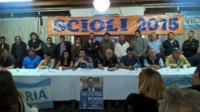 Relanzamiento de la campaña Scioli 2015 en Tigre