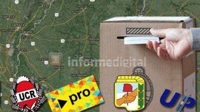 Cuántos municipios ganaron la UCR, el PRO y el PJ en Entre Ríos