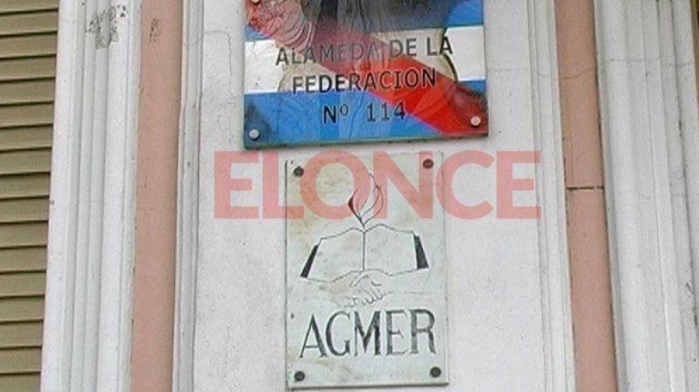 El jueves habrá paro de docentes nucleados en Agmer