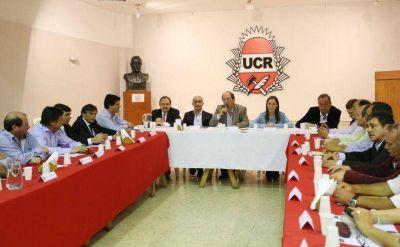 Lunghi participó de una reunión con Vidal en la sede del Comité de la UCR