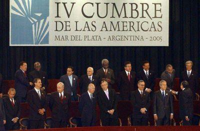 Hace 10 años, la región rechazaba en Mar del Plata el ALCA