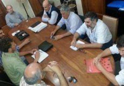 Tras la reunión en Economía, la transición del Gobierno sigue en Inspección