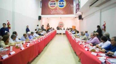 Reuni�n de intendentes con Vidal