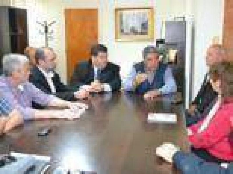 Slezack recibió a Jorge Nedela, intendente electo de Berisso