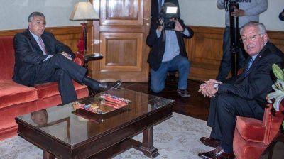 Morales y Fellner acordaron aprobar el presupuesto y la creación de ministerios