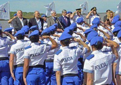 Andreotti y Granados celebraron el egreso de la primera Policía Local
