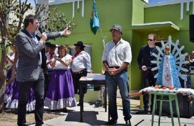 Se inauguraron las obras de mejoramiento de la Casa de los Abuelos