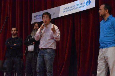 Nardini fortalece la campaña de Daniel Scioli en Malvinas Argentinas