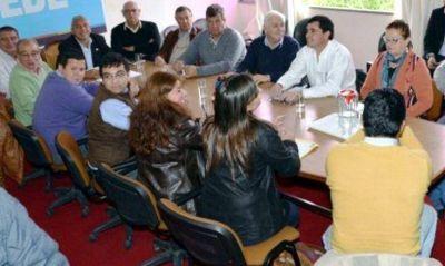 Intendentes de la Costa Centro Norte del Paraná ratificaron su apoyo incondicional a Daniel Scioli