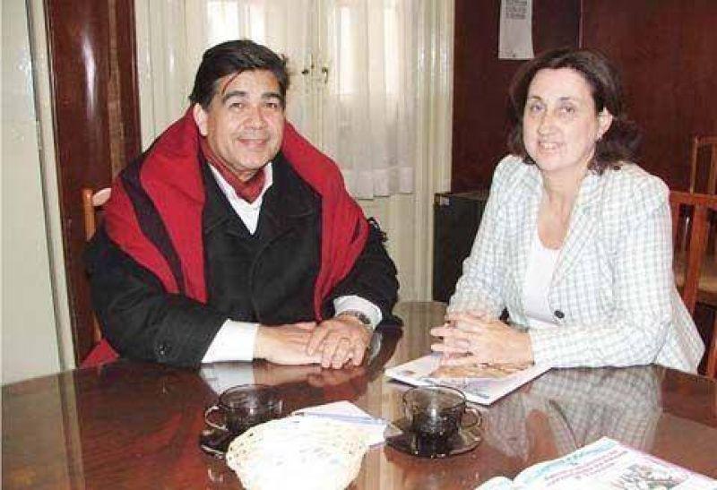 Ishii visitó Luján y se reunió con la intendenta