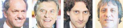 Scioli-Macri: miradas y tácticas distintas ante el ring del debate
