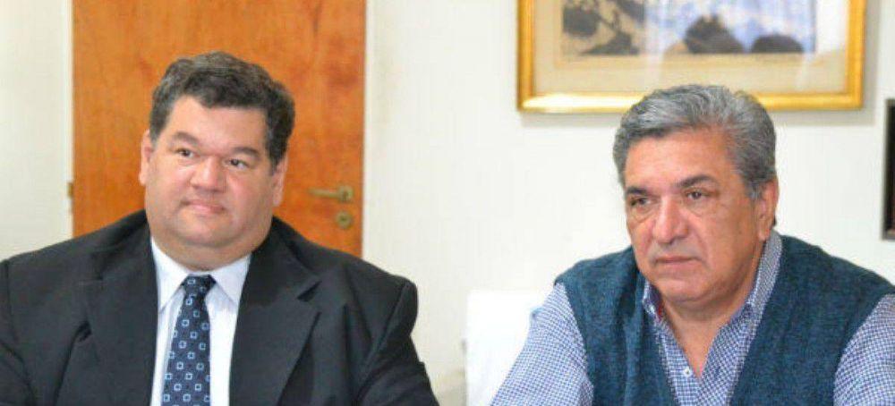 Enrique Slezack recibió a Jorge Nedela
