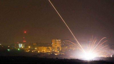 Israel bombarde� posiciones de Hamas tras el lanzamiento de un cohete desde la Franja de Gaza