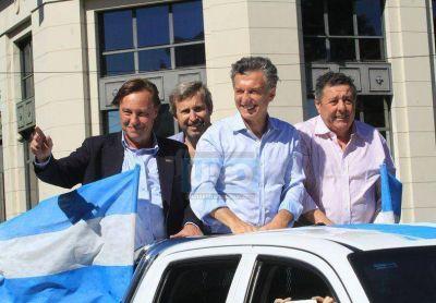 """Macri prometió más empleo, """"pobreza cero"""" e infraestructura para Entre Ríos"""