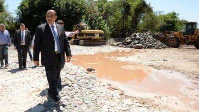 """""""Los trabajos de canalización y defensas de ríos son una prioridad"""", aseguró Manzur"""