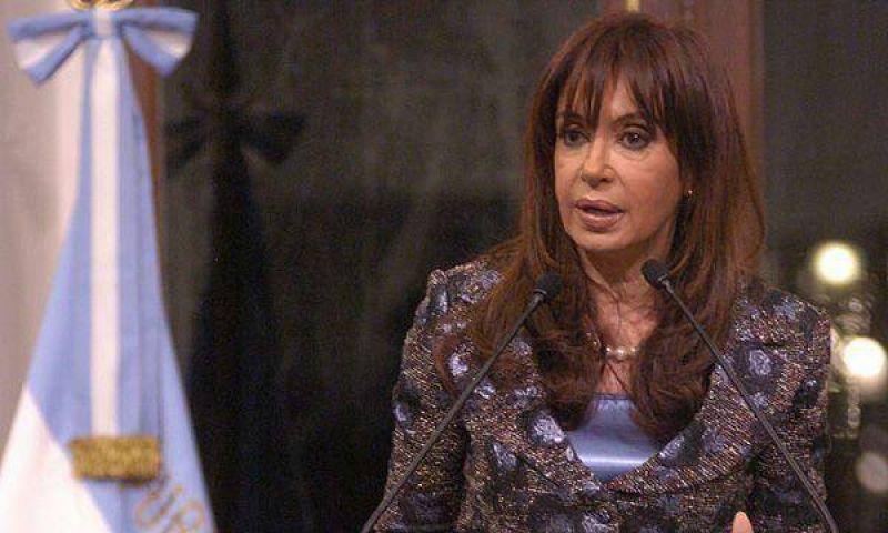 Cristina Kirchner continuará hoy con la ronda de diálogo político