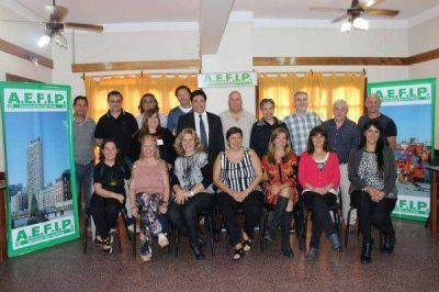 Asumió la nueva Comisión Directiva de la AEFIP