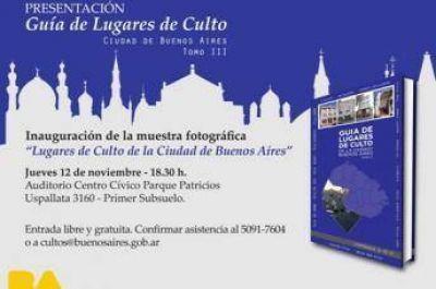 """Presentación del libro """"Guía de Lugares de Culto, Tomo III"""" en la ciudad de Buenos Aires"""