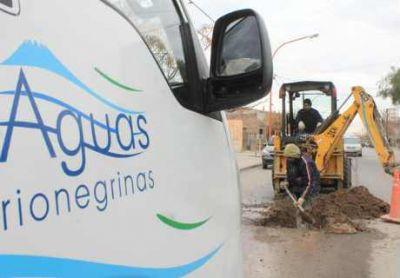Trabajos de ARSA en Las Grutas para optimizar el servicio de agua para el verano