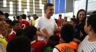 Macri jugó al fútbol en Moreno, donde hizo una de sus peores elecciones en el Conurbano