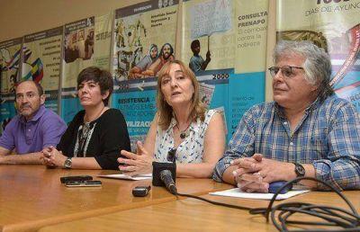 """UTELPA y CTERA, con el """"No a Macri"""""""