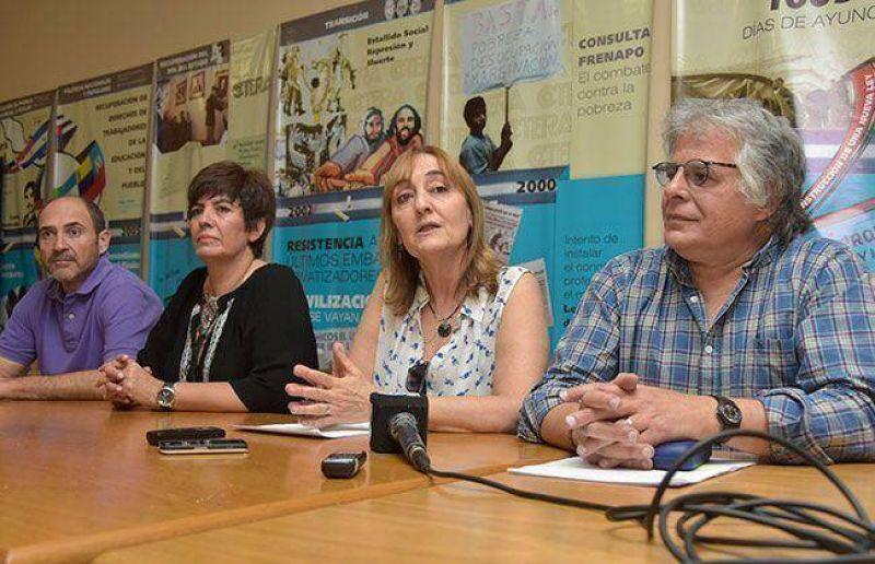 UTELPA y CTERA, con el �No a Macri�