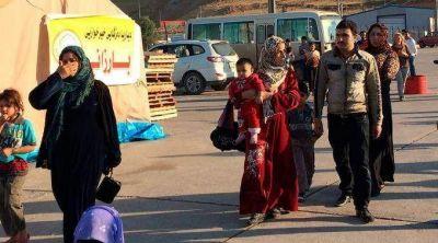 Miles de cristianos se escapan de Sadad perseguidos por el ISIS