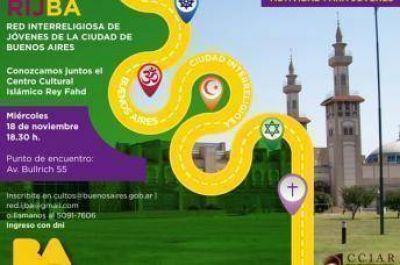 """El gobierno porteño organiza visita al Centro Cultural Islámico """"Rey Fahd"""""""