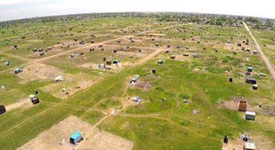 La Provincia acord� censar a las familias que ocupan el predio en Merlo
