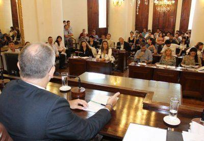 El Concejo Deliberante aprobó 12 iniciativas del Concejo Estudiantil 2014