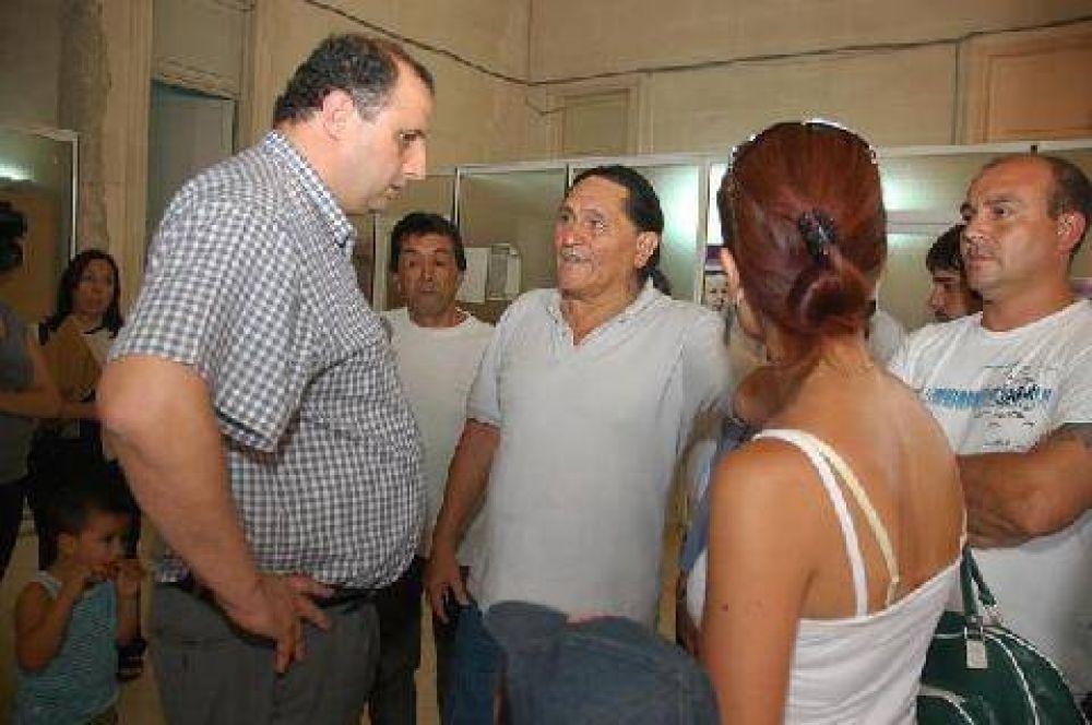 Paro de actividades del Sindicato de Trabajadores Municipales