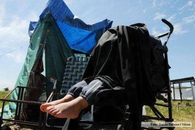 Familias que ocuparon terrenos en Merlo realizan un censo para buscar un acuerdo con las autoridades