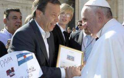 Almirante Brown: El Papa envió bendición a vecinos y saludó a Cascallares