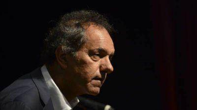 En el debate, Scioli cree que se juega su última oportunidad
