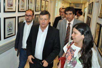 Con la presencia de Domingo Peppo establecieron por ley el boleto estudiantil gratuito