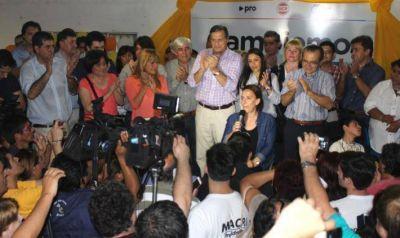 En S�enz Pe�a, Gabriela Michetti resalt� el proyecto de Cambiemos: �Es un acuerdo sano, moderno, nuevo�