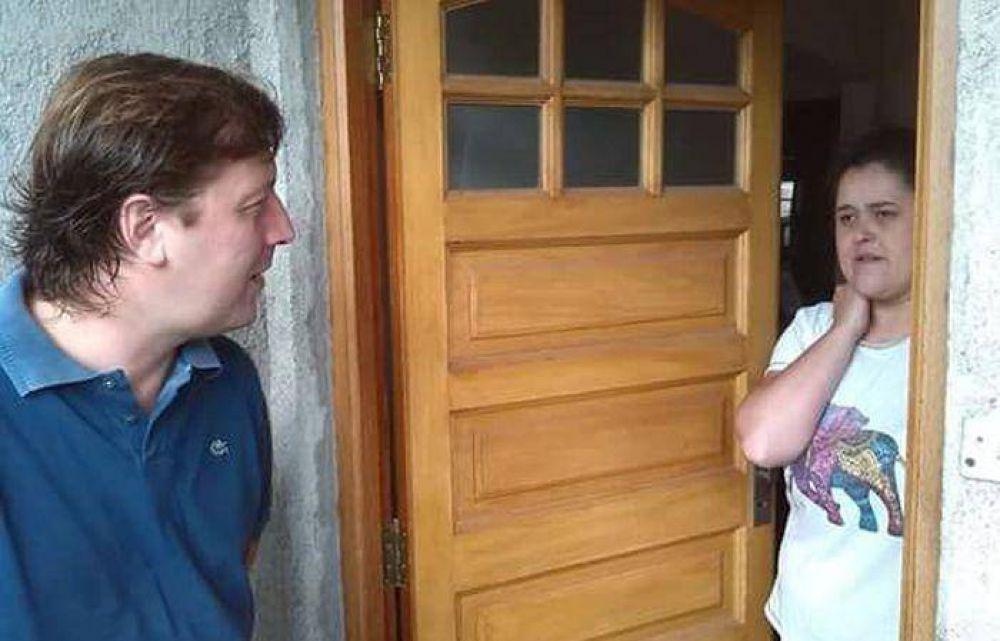 """Santellán: """"Olavarría tendrá mayor desarrollo con Daniel Scioli"""""""
