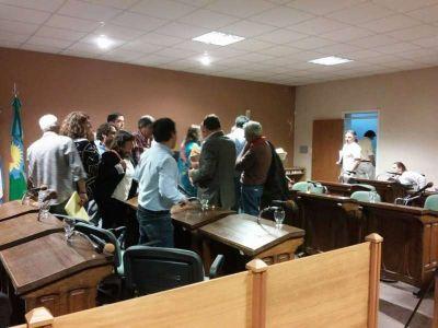 Aumento del agua: pasó a comisión por mayoría