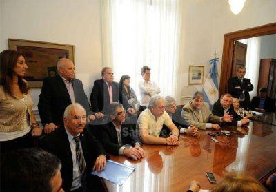 Legisladores del PJ reiteraron su apoyo a Daniel Scioli