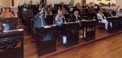Presupuesto, ley impositiva y coparticipación municipal pasaron a comisión