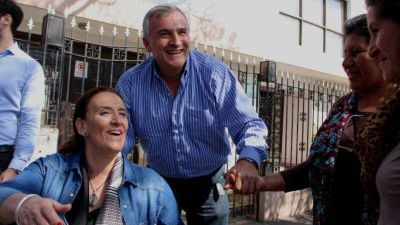 Gabriela Michetti de campaña en Jujuy