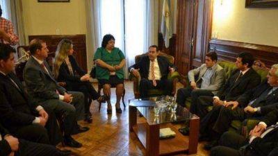 Amado aseguró que se trabajará coordinadamente con todos los municipios de la provincia