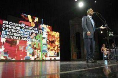 Artistas y trabajadores de la cultura expresaron su respaldo a Daniel Scioli