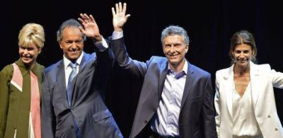 Debate presidencial: cruces con repetición de lemas de campaña