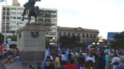 La movida para Scioli en las plazas de Entre Ríos