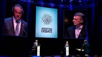 Daniel Scioli, en el debate:
