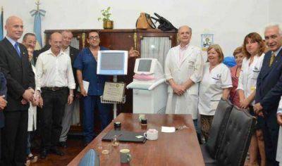 Nueva aparatología para el área de neonatología del Hospital Evita